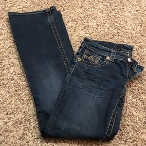 Seven7 Bootcut Jeans - Dark Rinse - size 27